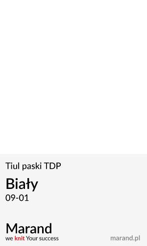 Tiul paski TDP – kolor Biały 09-01