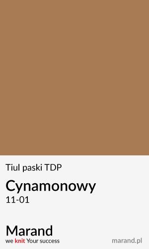 Tiul paski TDP – kolor Cynamonowy 11-01