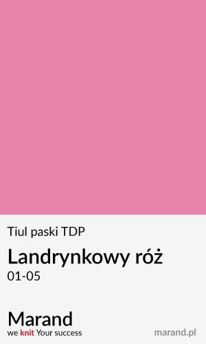 Tiul paski TDP – kolor Landrynkowy róż 01-05