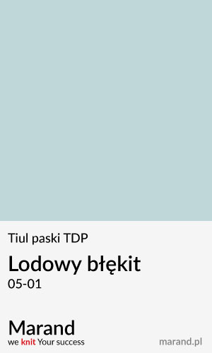 Tiul paski TDP – kolor Lodowy błękit 05-01